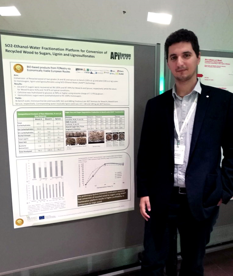 On November 27th Stylianos Voulgaris, Chemical Process Engineer of API Europe had a poster session at the FTP Annual Conference 2019 in Helsinki